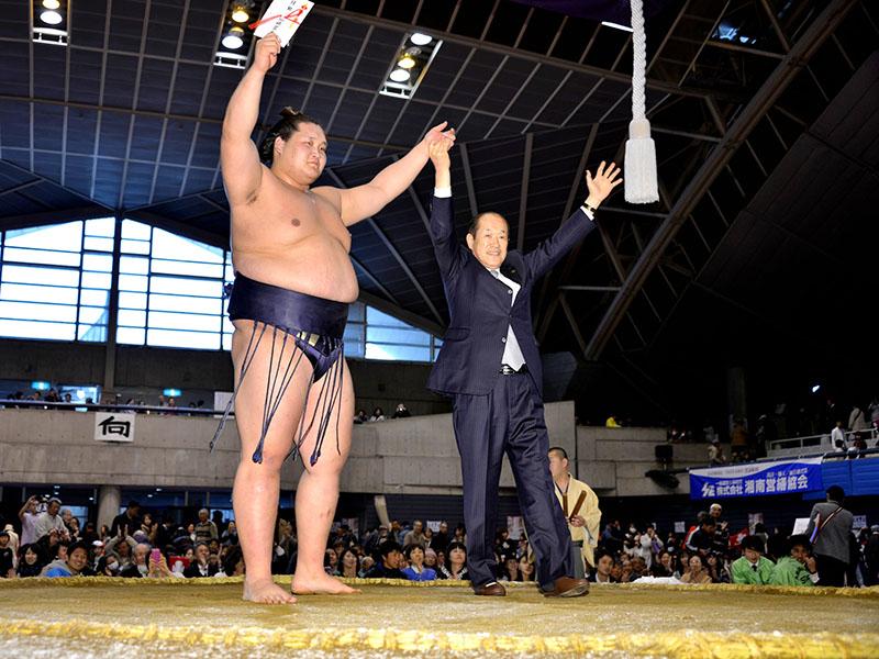 トーナメントを制したのは、照ノ富士。